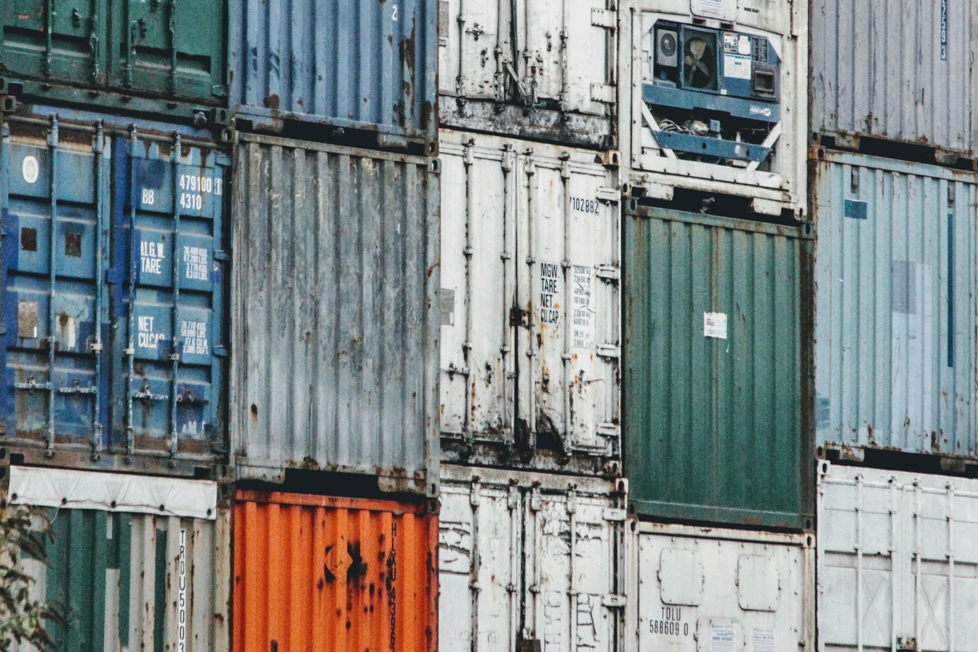 retentierecht uitoefenen op containers